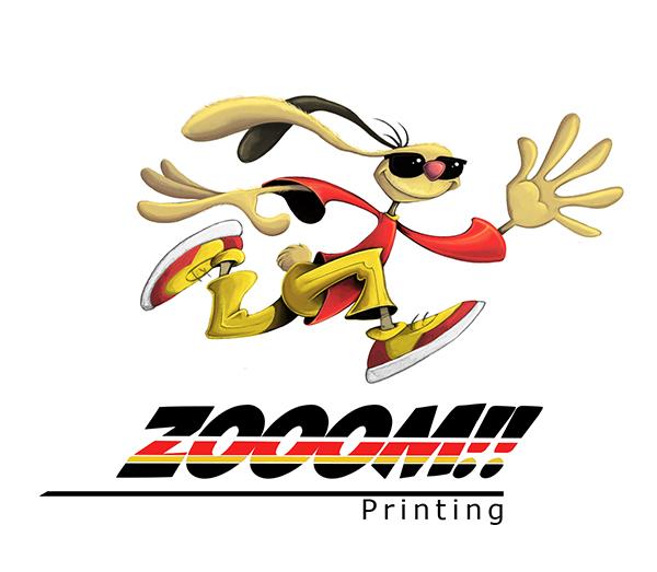 Zoom! Printing logo